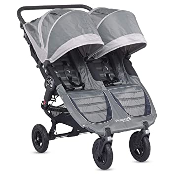 Baby Jogger City Mini Gt Stroller Double Steel Grey