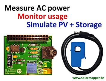 Raspberry Pi - Power Monitor add-on board, Virtual: Amazon co uk