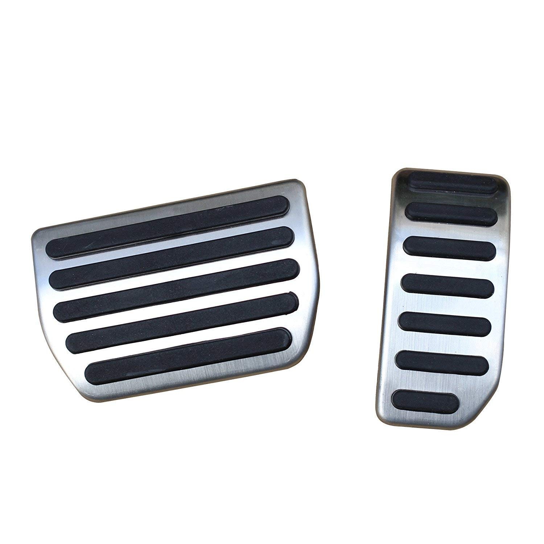 AT Fuß pedal Pedalkappen Fuß stü tze Pedalset Pedale Fü r XC60 S60 V60 S80 ICTRONIX