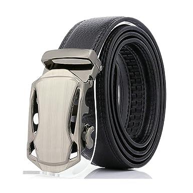 ROMQUEEN Hombres Cinturón Cinturón Hombre Jeans Traje para ...