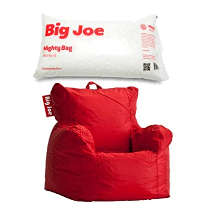 Remarkable Amazon Com Big Joe Cuddle Bean Bag Chair In Flaming Red Dailytribune Chair Design For Home Dailytribuneorg