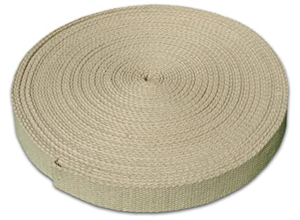 5 Yards 1.25 Inches Wide Hemp Webbing Your Choice of Length