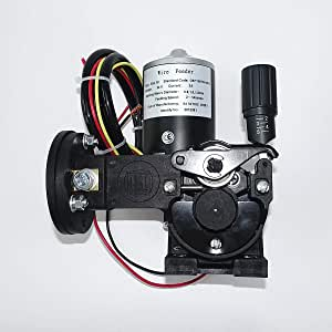 DC 24V 10W Mig Welder Roll Wire Feed Motor 0.6-1.0mm Soldering Wire Feeder Machine,Easy to Use and Operate Welder Wire Feeder