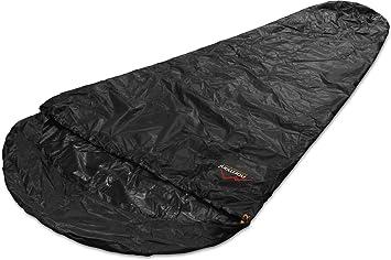 Funda de vivac para saco de dormir, 100% impermeable y cortavientos, transpirabilidad: