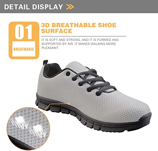 Frestree Vintage Casual Women Trainers Sneakers Rubber Soles Sport Shoes