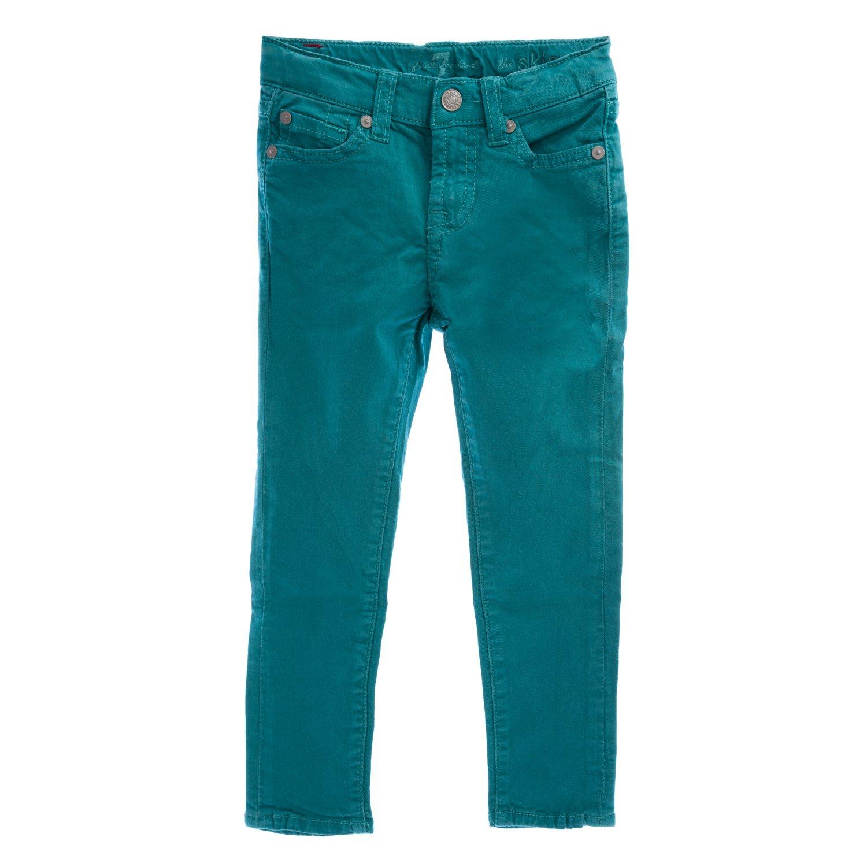 7 For All Mankind Little Girls' The Skinny Jean, Fanfare, 6X