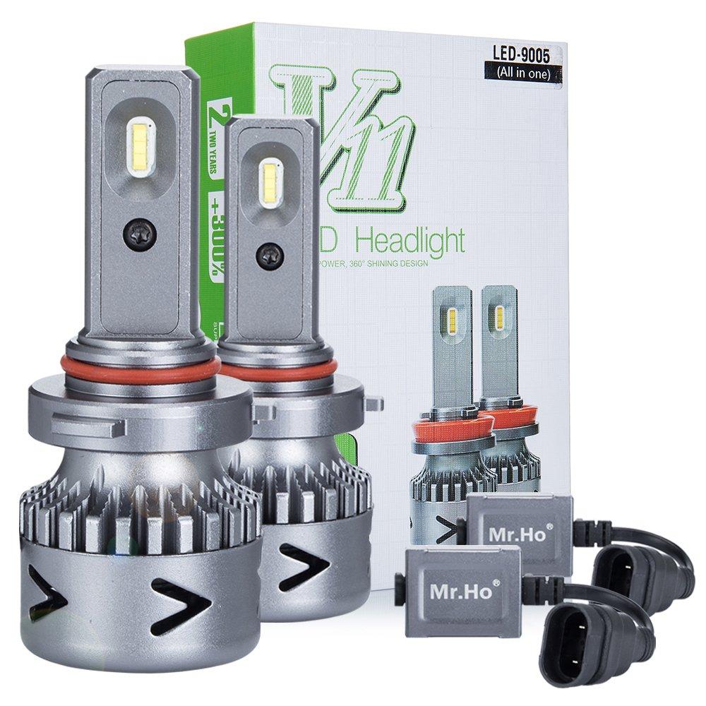 H11//H9//H8 LED Faro Bombillas LED Coche Kit Mr.Ho 2 Moto Alquiler de Luces del 6000K Korean Seoul LED Chips IP68 40W 4000LM luz Bombilla Blanca