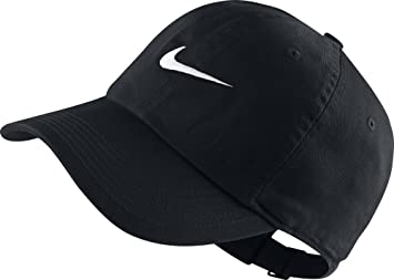 682d342f3a8 Nike Classic Youth Embroided Swoosh Baseball Cap in Black Heritage 546178  010