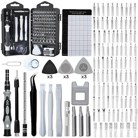 E·Durable kit tournevis de précision kit tools petit boite tournevis torx pour macbook,iphone,réparation,lunettes,bricolage,montre,smartphone Meilleur