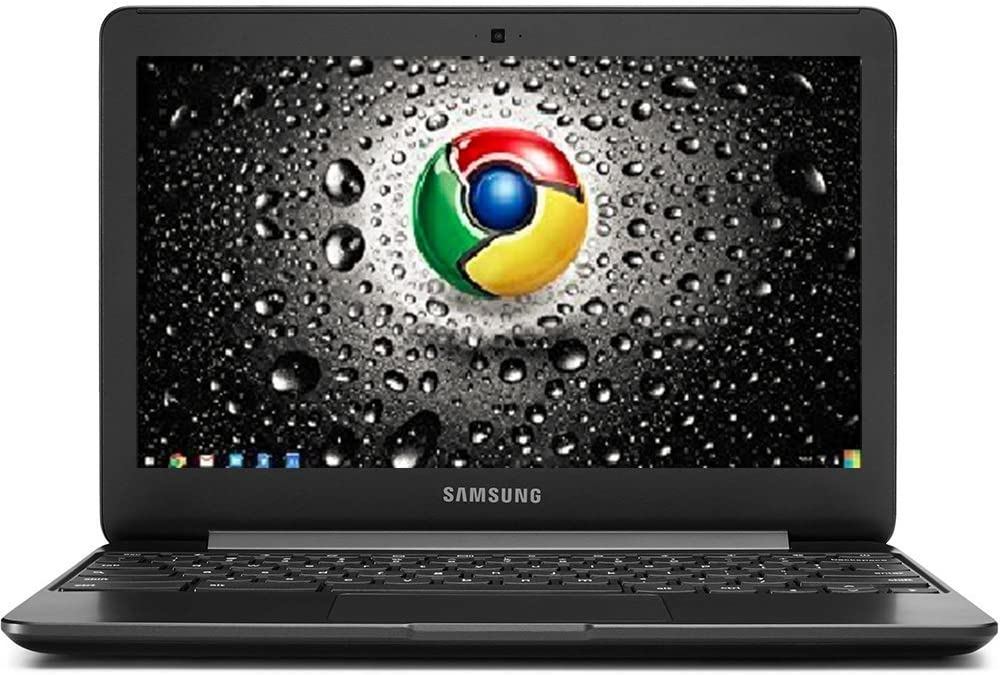 2017 Samsung 11.6-inch Premium High Performance Chromebook 3, Intel Dual-Core Processor 1.6GHz, 2GB RAM, 16GB eMMC SSD, 802.11AC WiFi, HDMI, Webcam, Bluetooth, 11-Hour Battery, Chrome OS-Black