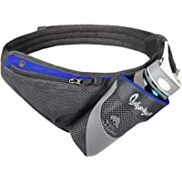 CyberDyer Running Belt Hydration Waist Pack with Water Bottle Holder for Men Women Waist Pouch Fanny Bag Reflective Fits iPhone 6/7 Plus