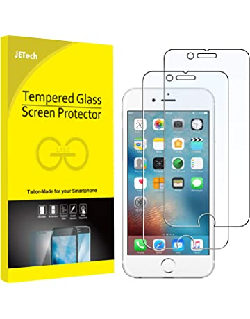 5728ba5132 JETech Screen Protector for Apple iPhone 6 and iPhone 6s Tempered Glass  Film