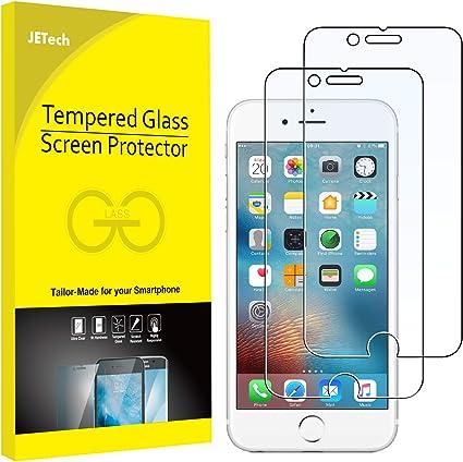 JETech 0803- Protector de Pantalla para iPhone 6s, iPhone 6 4,7, Vidrio Templado, 2 Unidades: Amazon.es: Electrónica