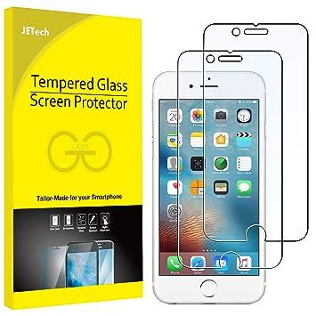 722253383aa JETech Protector de Pantalla para iPhone 6s y iPhone 6, Vidrio Templado, 2  Unidades: Amazon.es: Electrónica