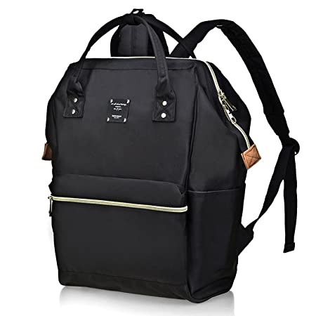 a5b70ed23ce5b5 Bebamour Unisex Nappy Changing Bag Baby Diaper Backpacks for  Travel,Changing Pad(Black): Amazon.com.au: Baby