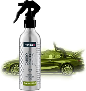 Hendlex Convertible Roof Sealant Top Water Proofer Protectant Spray 200ml Amazon Co Uk Car Motorbike