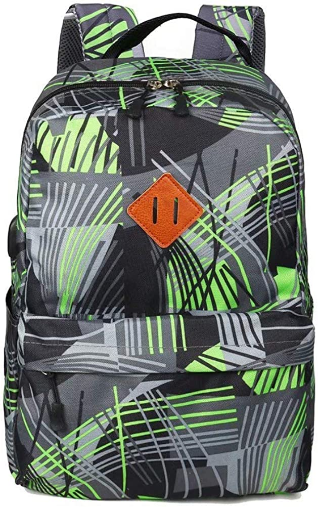 School Backpack,Unisex Classic Water Resistant Fashion Cool Laptop Backpack for Men Women