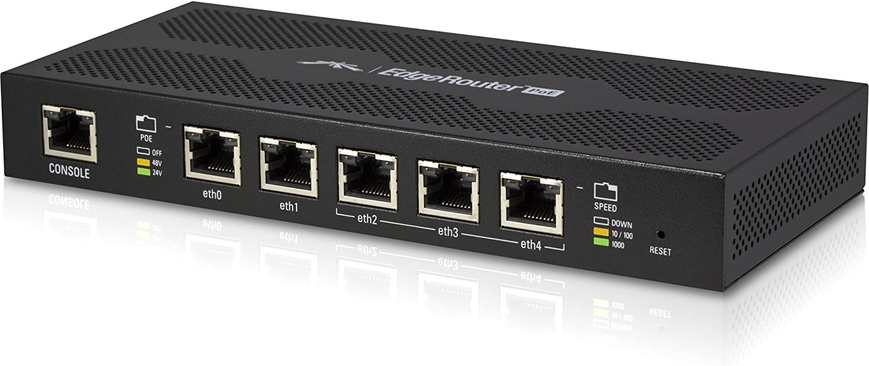 Ubiquiti ER-X EdgeRouter X Advanced Gigabit Ethernet Router w// 24V Passive PoE