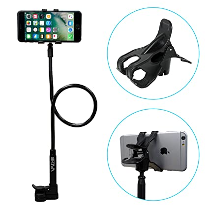 Amazon.com: iPhone Holder, Skiva Flexible Long Arms Cell Phone ...