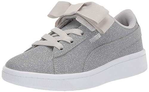 całkiem fajne butik wyprzedażowy tania wyprzedaż PUMA Kids' Vikky V2 Ribbon Slip on Sneaker