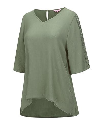 REGNA X BOHO Women's Shirring ...