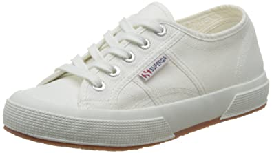 Superga 2750 Cotu Classic, Sneakers Basses mixte adulte, Blanc - Weiß (White 901), 38