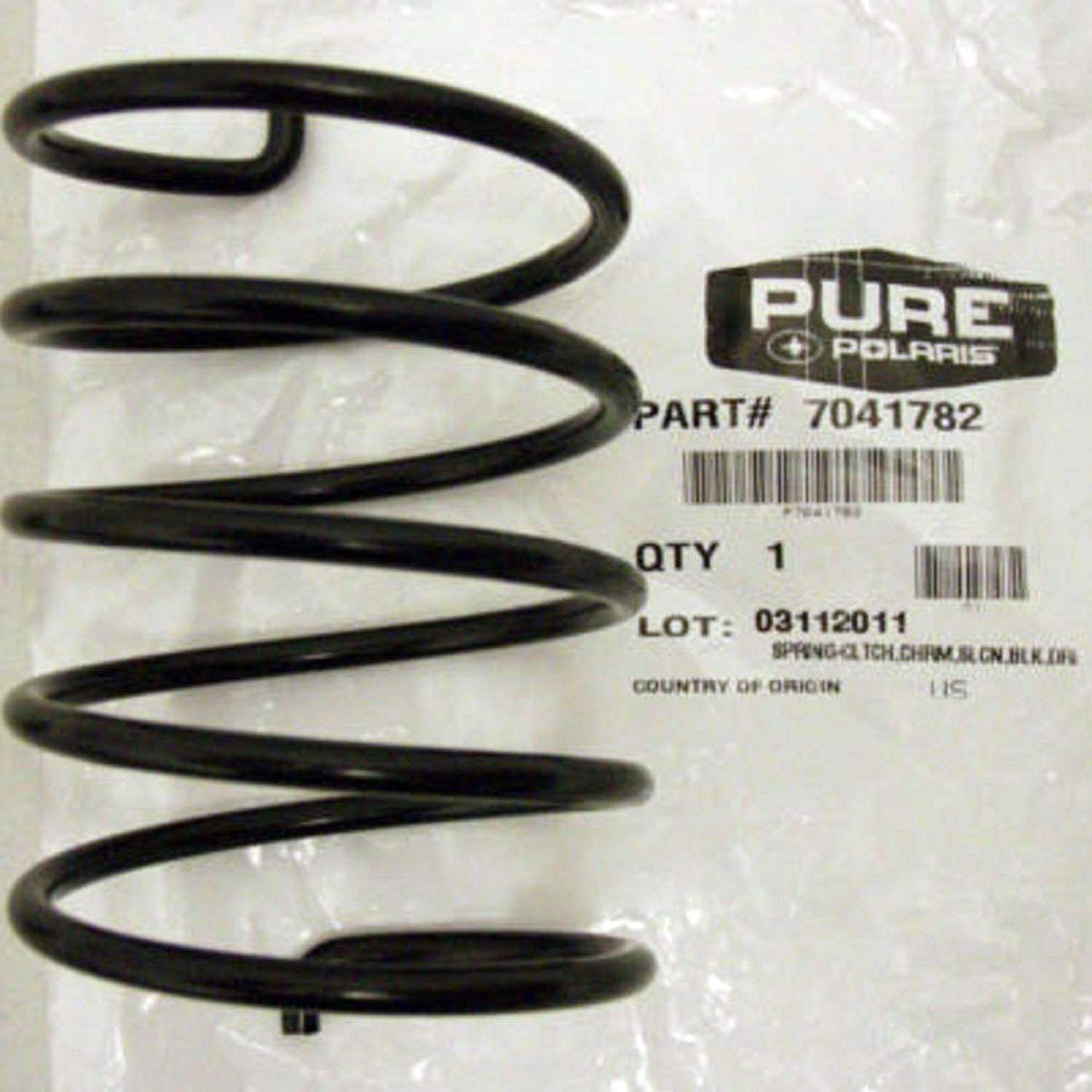 Polaris OEM ATV//UTV Driven Secondary Clutch Spring Ranger Sportsman 7041782 Black Magnum