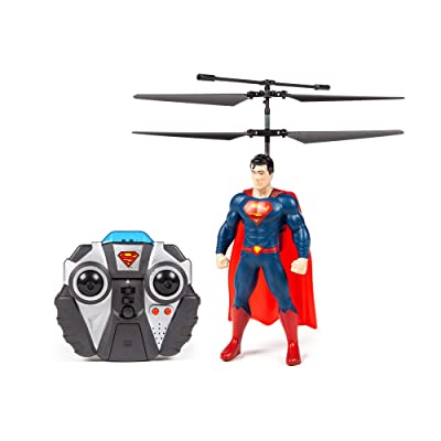 World Tech Toys Superman DC Comics Justice League 2CH IR Flying Figure Remote Control RC Helicopter: Toys & Games