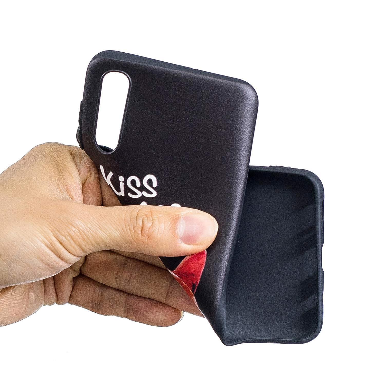 Tosim Samsung Galaxy A50 H/ülle Soft Flex Silikon TOBFE080023#3 Handyh/ülle Stossfest Kratzfest Weich Schutzh/ülle Cover Case f/ür Samsung Galaxy A50