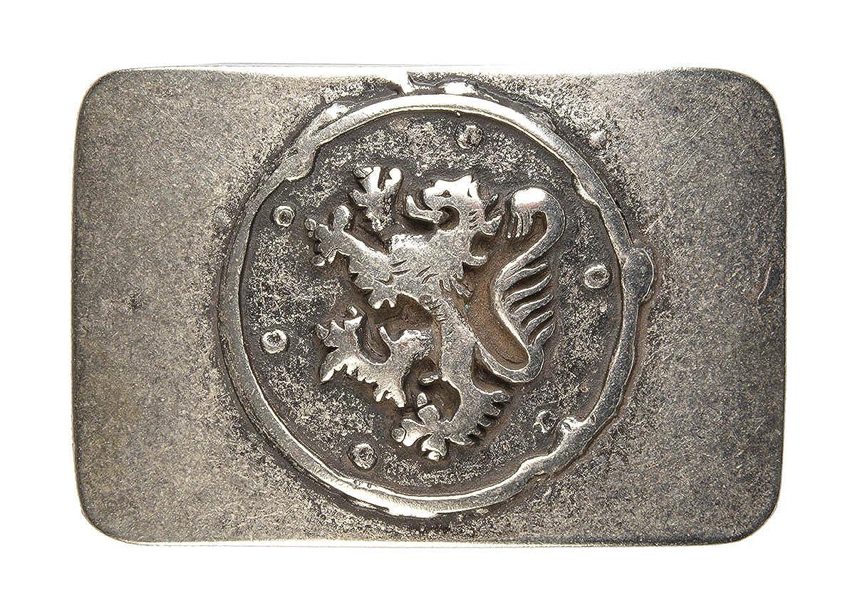 Trachten Gürtel-Schnalle Landes-Wappen Gürtelschließe Wechsel-Schliesse Geburtstag-Geschenk Accessoire 8 x 5, 5 cm 40 mm