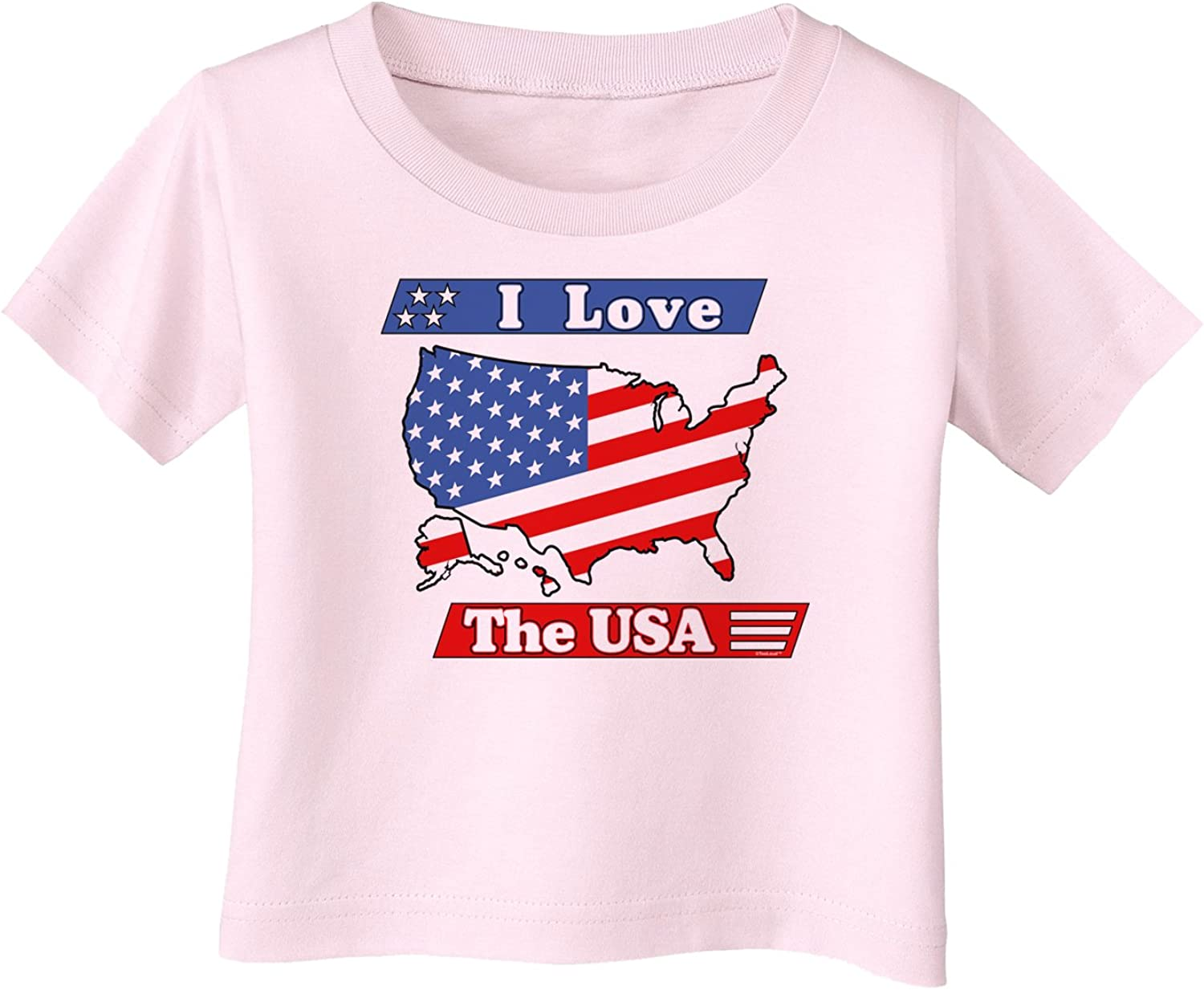 I Love The USA Infant T-Shirt