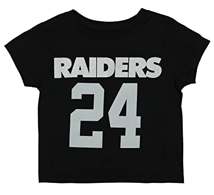 Outerstuff NFL Toddler Oakland Raiders Marshawn Lynch  24 Mainliner SS Tee 96022e48f