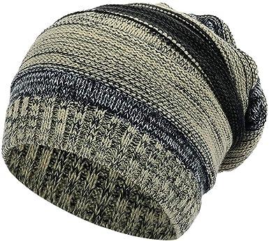 ALISIAM Unisex Patchwork Hat Gorros de Punto para niñas y niños ...