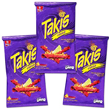 amazon com takis fuego family size party pack 29 7 ounces total