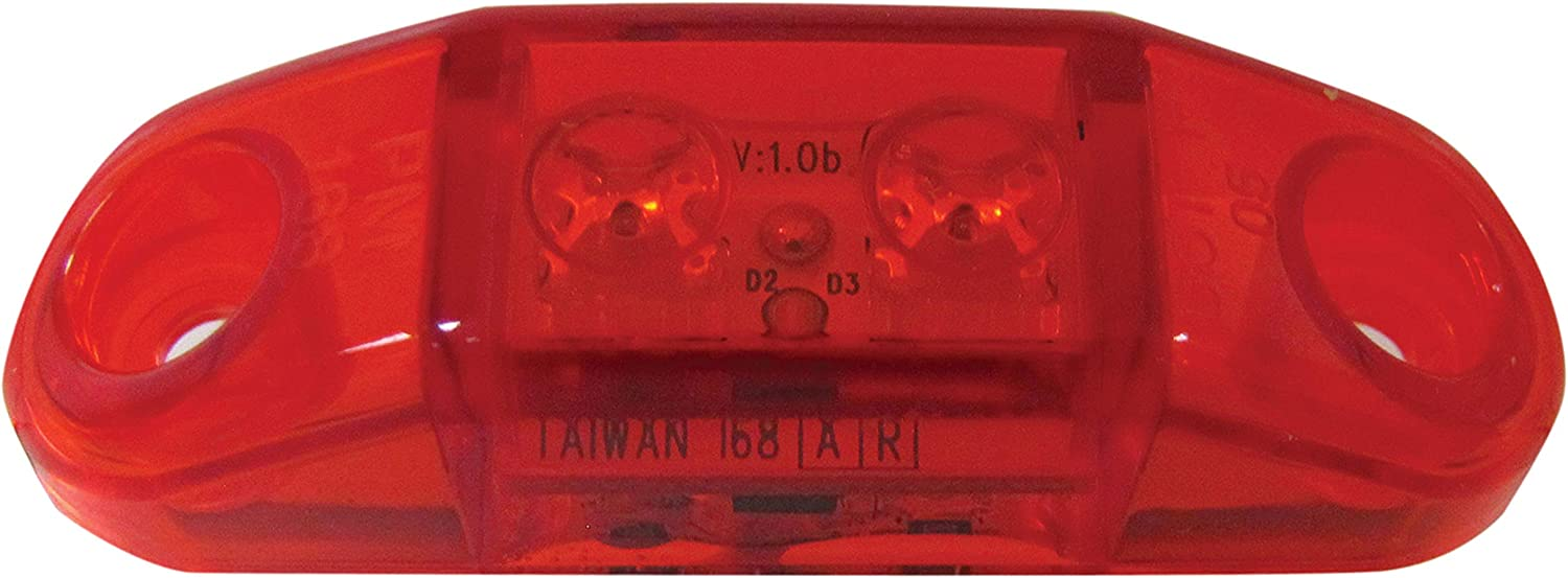 Peterson Manufacturing V168R LED Red Clearance Light