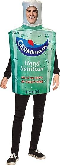 Amazon.com: Rasta Imposta Replica Hand Sanitizer Bottle Halloween Costume,  Adult One Size: Clothing