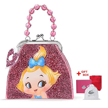 Amazon AnXin Shinning Little Girls Handbags Purse Mini Princess