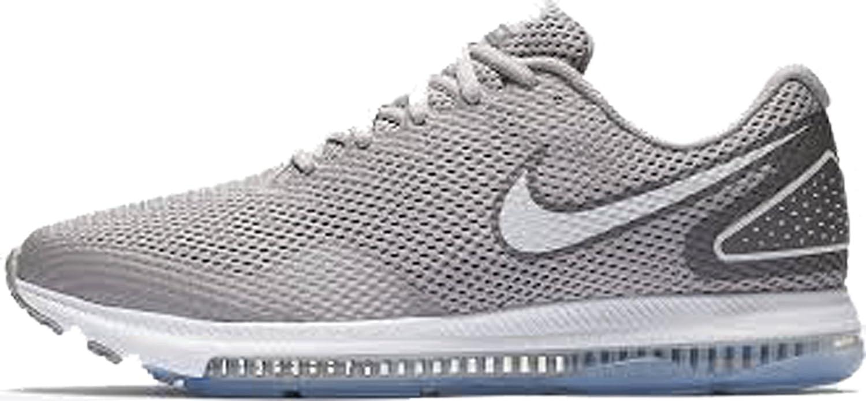 NIKE Men's Zoom All Out Low 2 Running Shoe Atmosphere Grey/VAST Grey-Gunsmoke Size 9.5 B07CS6NHXS