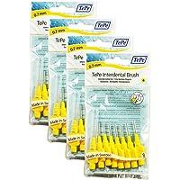 TePe - Cepillos interdentales 0.7mm en amarillo - 4 paquetes de 8 (32  cepillos 9beb457db40f