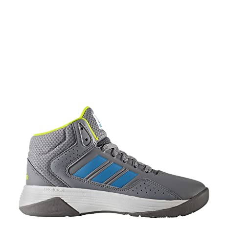 Adidas Cloudfoam Ilation Mid K - Zapatillas baloncestopara niños, Gris - (Gris/Azusol