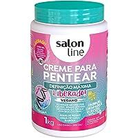 Salon Line - Linha Tratamento (Definicao Maxima) - Creme Para Pentear 1000 Gr - (Salon Line - Treatment (Maximum…