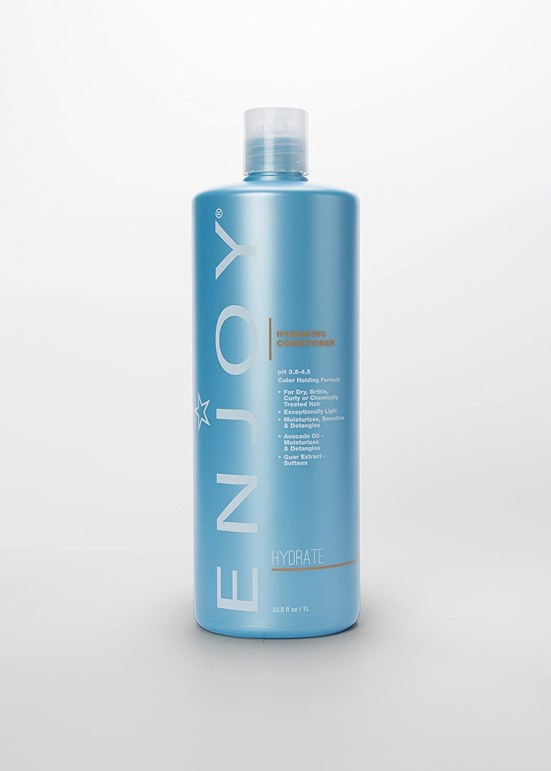 ENJOY Sulfate Free Hydrating Conditioner (33.8 OZ) – Smooth, Soft, Silky Hair Conditioner