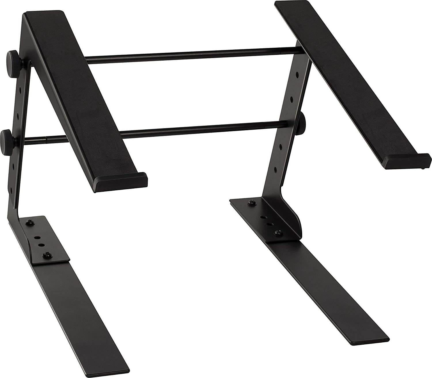 Ultimate Support JS-LPT100 JamStands Series Single-tier, Multi-purpose Laptop/DJ Stand with Stand Alone Base