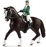 Schleich 42358 - Springreiterin mit Pferd Figur
