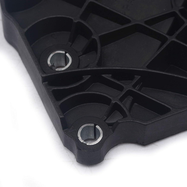 Sprwinautummer OE Water Pump Thermostat Cover Housing Connector 06E121168 for Audi A4 A6 3.2L 06E121168
