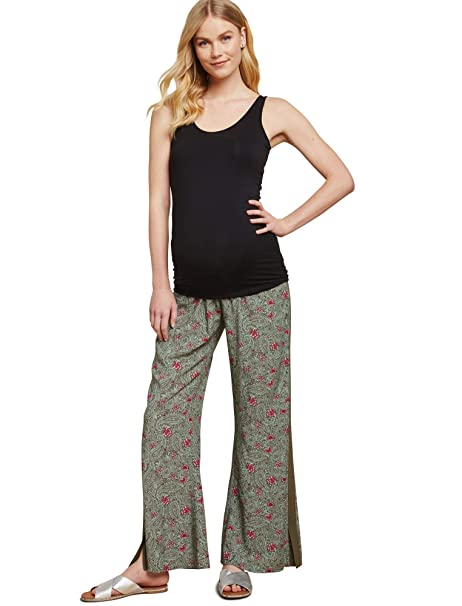 9d8166742de03 Jessica Simpson Under Belly Challis Flare Leg Maternity Pants at Amazon  Women's Clothing store: