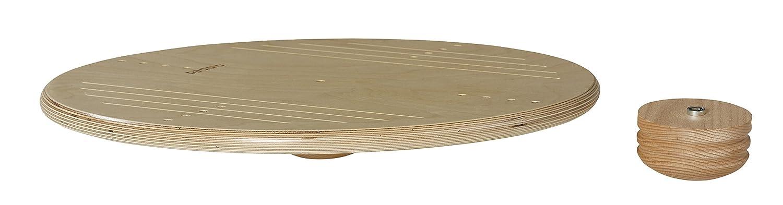 Pedalo Trimm Top 50 Vario aus Holz I Gleichgewichtstrainer I Balance Board I Kreisel I Koordinationstraining I Therapiekreisel