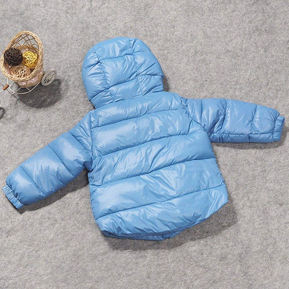 Thick Outerwear Jackets Childrens Clothing Boy Girl Outerwear Winter Snowsuit