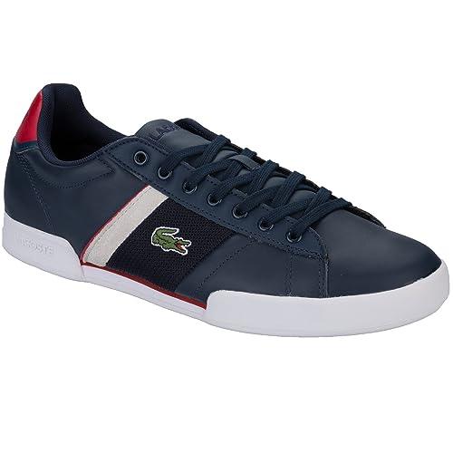 c3fe3739ac9 Zapatillas Lacoste Deston Azul marino  Amazon.es  Zapatos y complementos