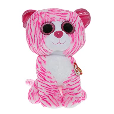 Ty Girls and Womens Beanie Boos Large Asia The Kitten Soft Toy   Amazon.co.uk  Clothing 2afc457de